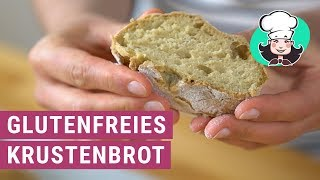 Glutenfreies Krustenbrot