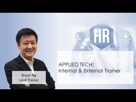 Internal & External Trainer