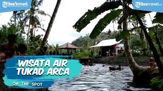 Destinasi Wisata Air Tukad Arca Bali, Mata Airnya Berasal dari Gunung Agung