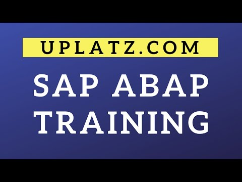 SAP ABAP Training & Certification | Become an SAP ABAP ...