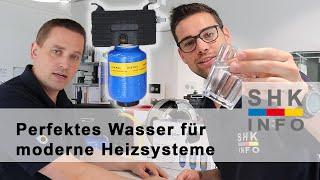 Das richtige Heizungswasser für moderne Heizsysteme