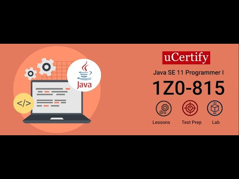1Z0-815: Oracle Java SE 11 Certification Course - YouTube