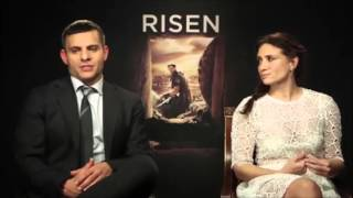 """Joseph Fiennes and Maria Botto discuss new movie 'Risen,"""" about the resurrection of Jesus Christ"""