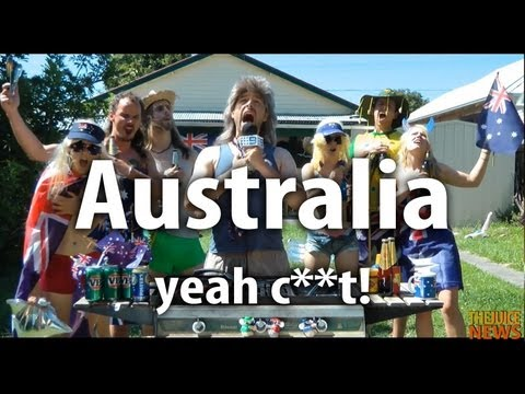 Australia, Yeah content - Australia's new National Anthem