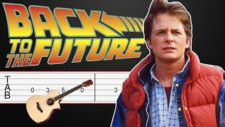 Back to the Future - Guitar Tabs Tutorial