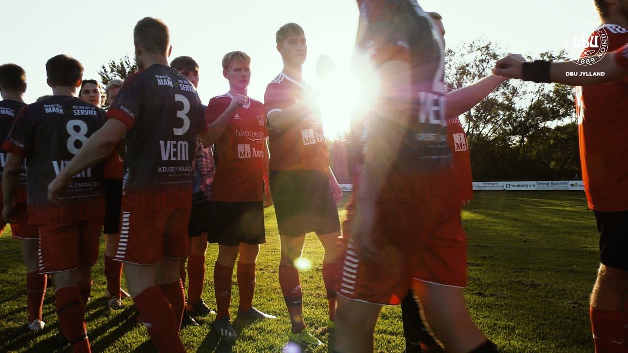 Fodbolden er livsnerven midt i Limfjorden