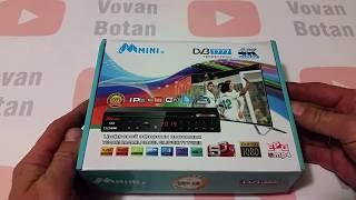Тюнер цифровой эфирный Т2 HDOpenbox тюнер DV3 T777 + IPTV + YouTube + WIFI + 4k от компании ТехМагнит - видео