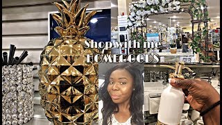 SHOP WITH ME: HomeGoods Home Decor!