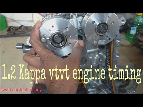 1.2 Kappa vtvt engine timing||Hyundai Xcent timing