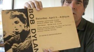 Bob Dylan Concert Posters 1964-1965 Berkeley, San Francisco