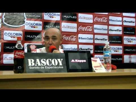 Conferencia de Prensa Juan Manuel Llop