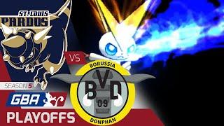 Donphan  - (Pokémon) - StL Rampardos vs BOR Donphan GBA PLAYOFFS W1 |