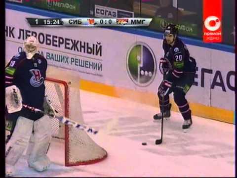 Сибирь-Металлург Мг (25.01.14) 1 период