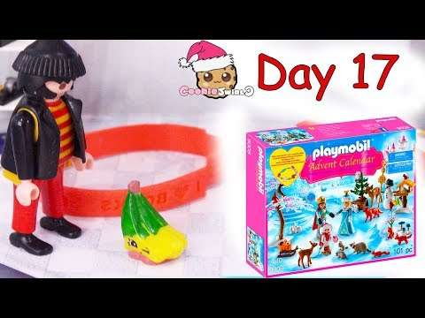 Playmobil Holiday Christmas Advent Calendar Day 17 Cookie Swirl C Toy Surprise Video