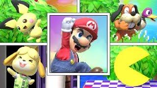 All Character's Battle Entrances in Super Smash Bros Ultimate