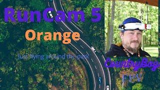 RunCam 5 orange test run FPV
