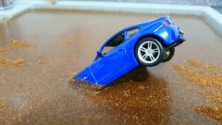 cars for kids fall in the water welly cars for kids ( NEW CARS )
