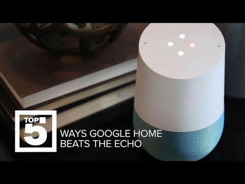 How the Google Home is better than the Amazon Echo (CNET Top 5)