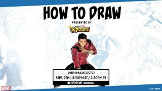 How to Draw Shang-Chi with Marcus To! Presented by Marvel Strike Force