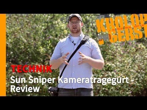 Sun Sniper Kameratragegurt - Review 📷 TECHNIK 📷 Krolop&Gerst
