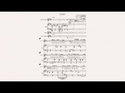 MAMA - Flavour ft. Chidimma (music score); edited & transcribed by Edison Somto Aguzue