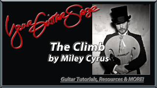 The Climb by Miley Cyrus - Beginner How to Play Guitar Lesson