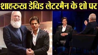 Shahrukh Khan appears on David Letterman's show: Check Out Here | FilmiBeat