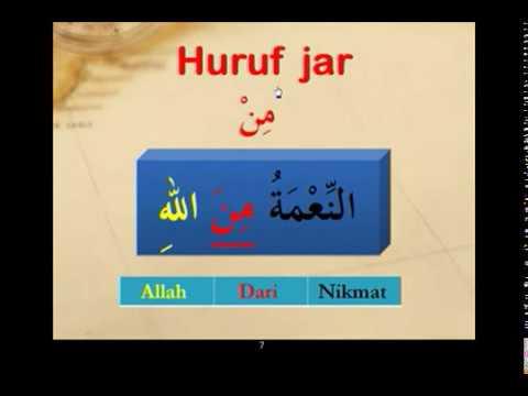 Arabic Grammar: Lesson 8