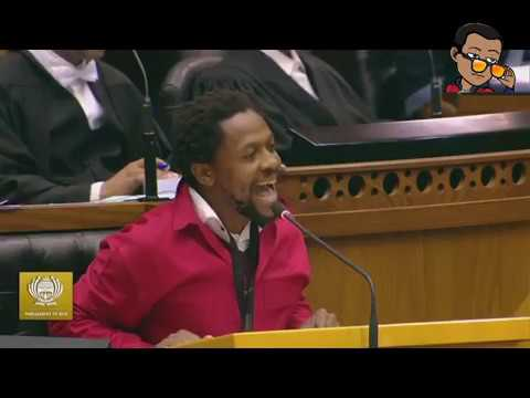EFF's Mbuyiseni Ndlozi lashes out at Springboks in parliament