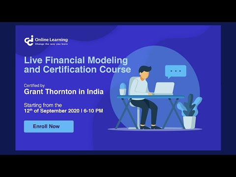 Live Financial Modeling Certification Course - YouTube