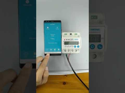 Medidor de energ/ía 220V//230V Medidor Consumo Electrico DDM76SC monof/ásico tipo riel DIN con pantalla LCD medidor de energ/ía de vat/ímetro de consumo de energ/ía