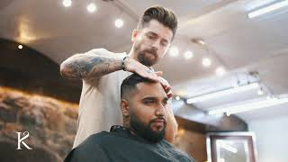 How To Cut Dark Hair With A Modern Mid-fade - Men´s Short Hairstyle Inspiration