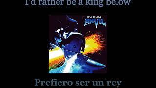 Anvil - 666 - Lyrics / Subtitulos en español (Nwobhm) Traducida