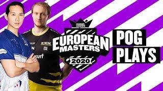 European Masters : les « Pog Plays » des demies et de la finale