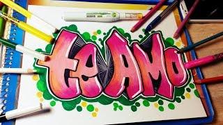 hmongbuynet  como dibujar te amo  como dibujar te amo en graffiti