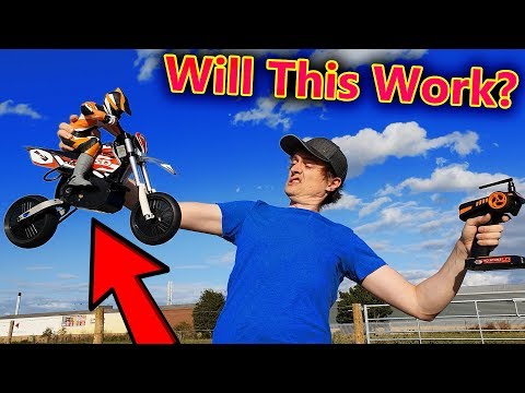 Can I Ride an RC Motorbike (NO STABILIZERS)