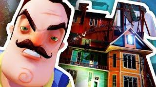 КТО ПОСТРОИЛ ЕГО ДОМ?? ПРИВЕТ СОСЕД!!! Alpha 3 (Hello Neighbor) Стрим - DILLERON ★ Play
