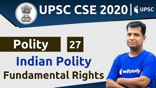 4:00 PM - UPSC CSE 2020 | Polity by Pawan Sir | Fundamental Rights