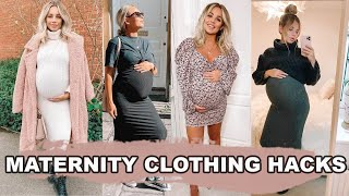 MATERNITY CLOTHING HACKS | Lucy Jessica Carter