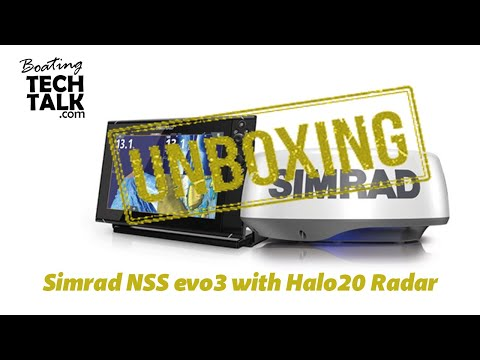 Simrad NSS evo3 with HALO20 Radar Bundle - UnBoxing and Product Review