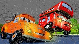 Odtahové auto pro děti Dvoupatrový autobus Denver Odtahové auto