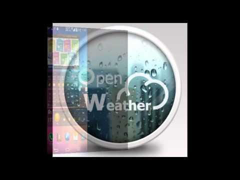 Video of 기상청 날씨, 오픈웨더(Weather) 위젯 미세먼지