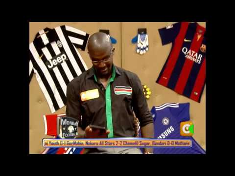 Monday Football 25th May 2015