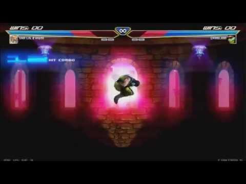 Street Fighter vs Mortal Kombat (MK vs SF) Akuma vs Chameleon HD