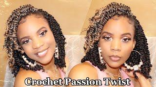 Niseyo  Crochet Passion Twist Review + Tutorial | Individual crochet braiding pattern |