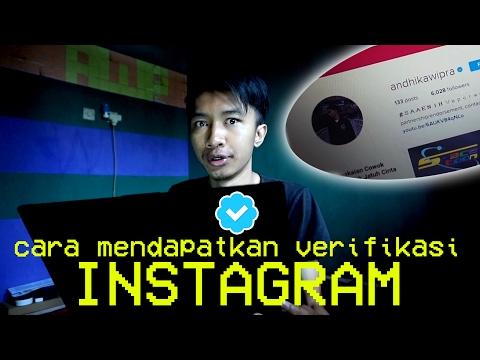 Video CARA MUDAH MENDAPATKAN TANDA VERIFIKASI INSTAGRAM!!!