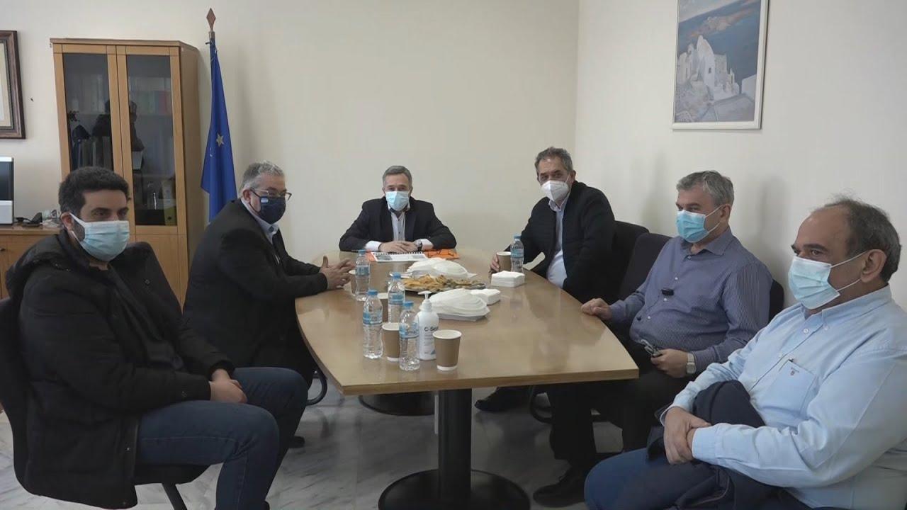Επίσκεψη του γγ της ΚΕ του ΚΚΕ, Δ.Κουτσούμπα στον νομό Έβρου