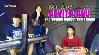 AKU SAYANG BANGET SAMA KAMU (versi Latihan)  Revita Ayu Bareng Revita Music Electone