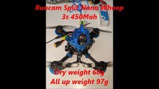 Racer X Twiglet Deluxe HD Runcam Split Nano 3 Whoop