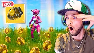 BREAKING Fortnite with x100 *NEW* Port-A-Fortress!
